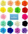 Bluebubble ENGLISH ROSE Vintage Style Carved Rose Statement Bib Necklace